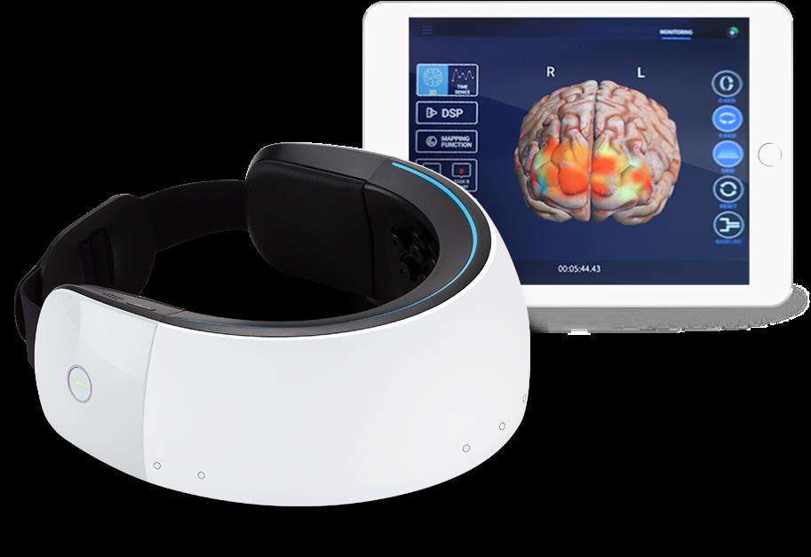 Stimulator electric portabil pentru a trata boala  Alzheimer